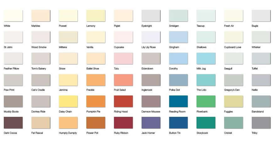 2013 Colour Range