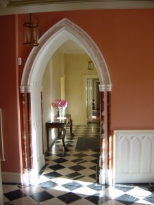 Building_lime_Cor Castle, Hall, Internal Fine finishes