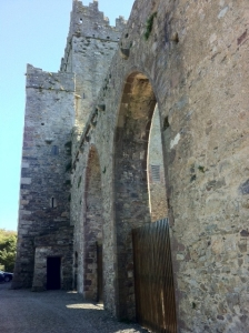 EcoCork used at Tintern Abbey, Co. Wexford